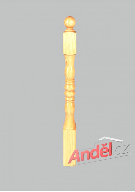 Dřevěný sloupek 03-80
