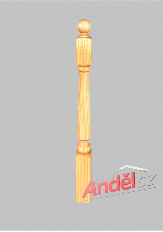 Dřevěný sloupek 06-80