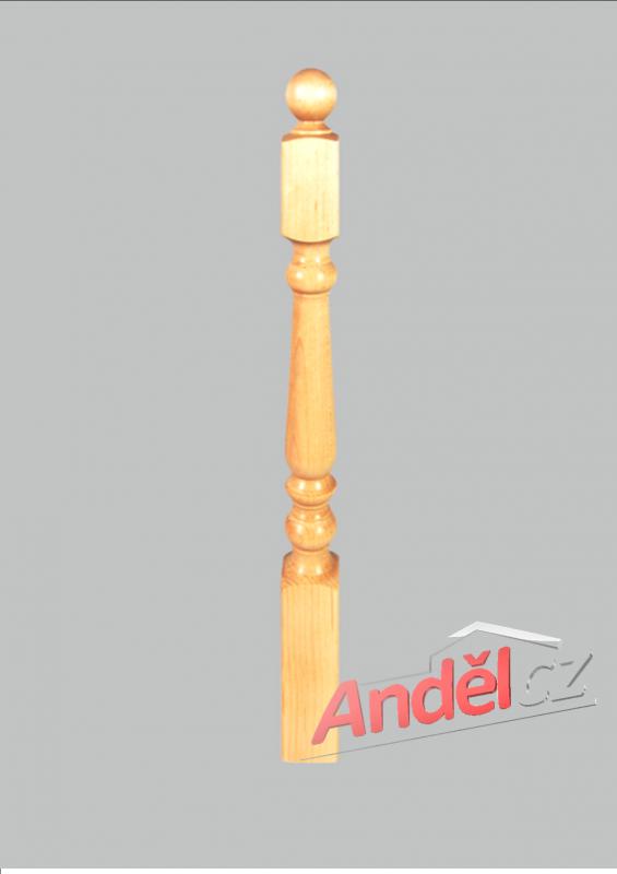 Dřevěný sloupek 07-80