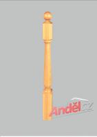 Zobrazit detail - Dřevěný sloupek 08-80