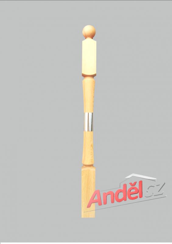 Dřevěný sloupek 10-80