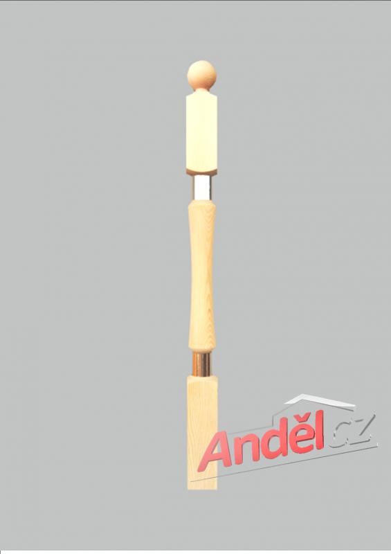Dřevěný sloupek 11-80