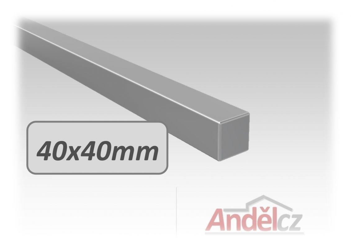 MADLO nerezové - délka od 20 do 600 cm