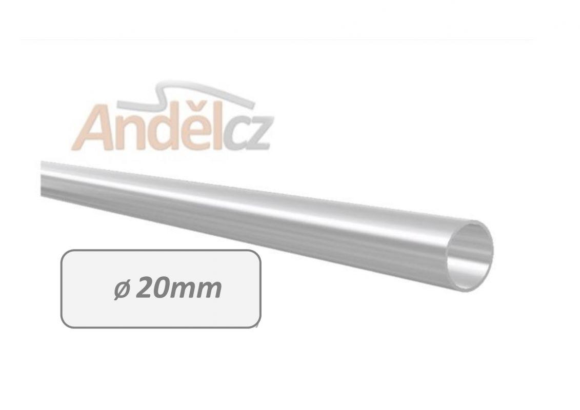 trubka nerez 20mm délka 20-600cm