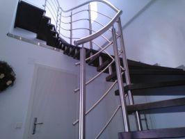 Vzpěra pro samostatná schodiště- sada sada Ø40mm