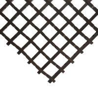 Černá olejivzdorná protiskluzová průmyslová univerzální rohož - 500 x 90 x 1,2 cm