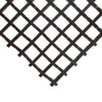 Černá olejivzdorná protiskluzová průmyslová univerzální rohož - 1000 x 60 x 1,2 cm