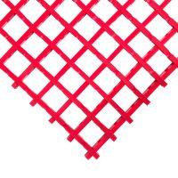 Červená olejivzdorná průmyslová univerzální rohož - 10 m x 60 cm x 1,2 cm