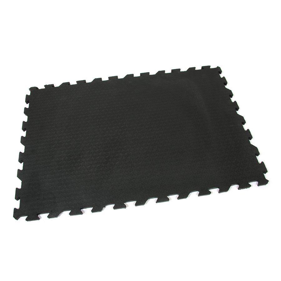 Gumová podlahová zátěžová rýhovaná rohož Strong, FLOMAT - délka 120 cm, šířka 80 cm a výška 2 cm