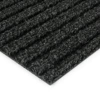 Černá kobercová čistící zóna Shakira - 100 x 100 x 1,6 cm