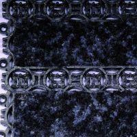 Černá plastová vstupní vnitřní čistící rohož - délka 20,5 cm, šířka 20,5 cm a výška 1,1 cm FLOMAT