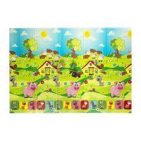 Dětská hrací pěnová skládací podložka Piggy, Casmatino - 200 x 140 x 0,9 cm