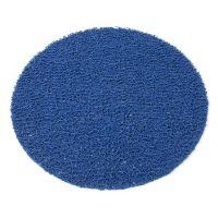 Modrá protiskluzová sprchová kulatá rohož Spaghetti - 54 x 1,2 cm