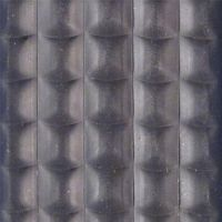 Textilní gumová hliníková kartáčová vnitřní vstupní rohož Alu Low Extra, FLOMAT - délka 100 cm, šířka 100 cm a výška 1 cm