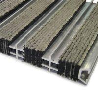 Textilní hliníková čistící vnitřní vstupní rohož Hardmat, FLOMAT - 60 x 260 x 1,8 cm