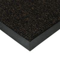 Černá textilní vstupní vnitřní čistící zátěžová rohož Catrine, FLOMAT - délka 50 cm, šířka 90 cm a výška 1,35 cm