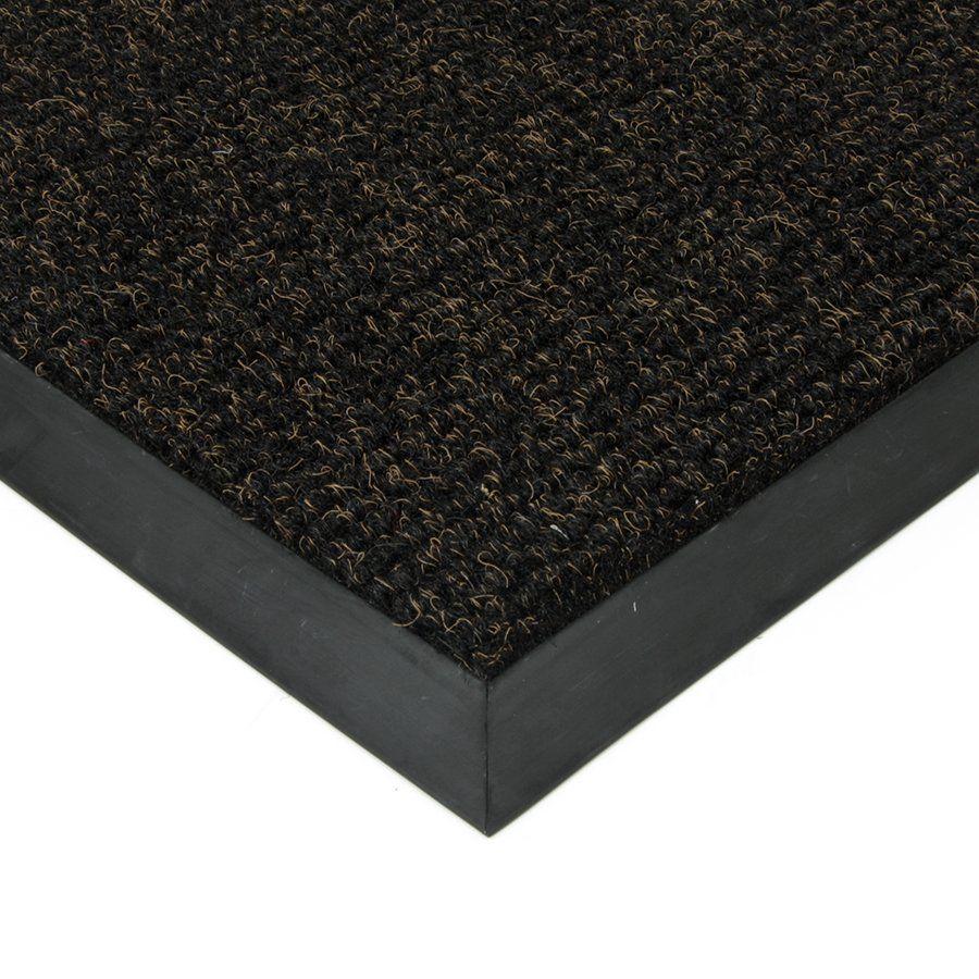 Černá textilní vstupní vnitřní čistící zátěžová rohož Catrine, FLOMAT - délka 400 cm, šířka 300 cm a výška 1,35 cm