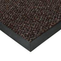 Hnědá textilní vstupní vnitřní čistící zátěžová rohož Fiona, FLOMAT - délka 100 cm, šířka 100 cm a výška 1,1 cm