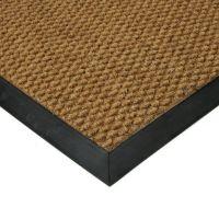 Béžová textilní vstupní vnitřní čistící zátěžová rohož Fiona, FLOMAT - délka 70 cm, šířka 100 cm a výška 1,1 cm
