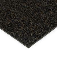 Černá kobercová vnitřní čistící zóna Catrine - 100 x 100 x 1,35 cm