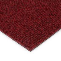 Červená kobercová vnitřní čistící zóna Catrine, FLOMAT - délka 150 cm, šířka 100 cm a výška 1,35 cm