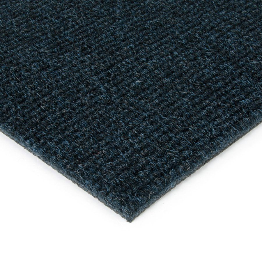 Modrá kobercová vnitřní čistící zóna Catrine, FLOMAT - délka 200 cm, šířka 200 cm a výška 1,35 cm