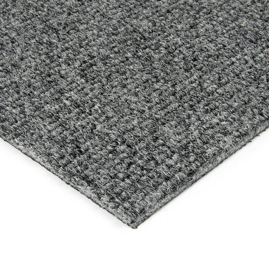 Šedá kobercová vnitřní čistící zóna Catrine, FLOMAT - délka 100 cm, šířka 100 cm a výška 1,35 cm