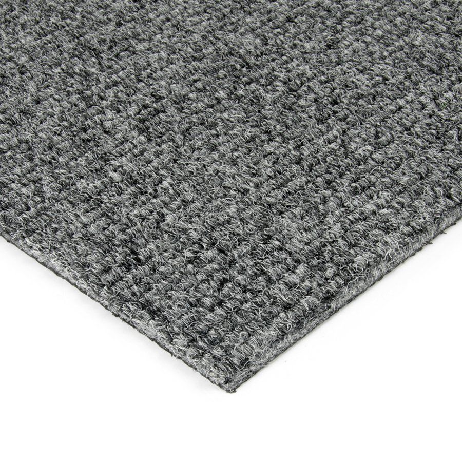 Šedá kobercová vnitřní čistící zóna Catrine, FLOMAT - délka 200 cm, šířka 100 cm a výška 1,35 cm