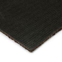 Tmavě hnědá kobercová vnitřní čistící zóna Catrine, FLOMAT - délka 150 cm, šířka 100 cm a výška 1,35 cm