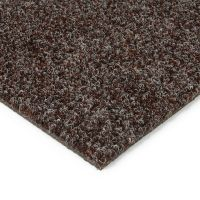 Tmavě hnědá kobercová vnitřní čistící zóna Catrine - 200 x 100 x 1,35 cm