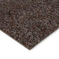 Tmavě hnědá kobercová vnitřní čistící zóna Catrine - 200 x 200 x 1,35 cm