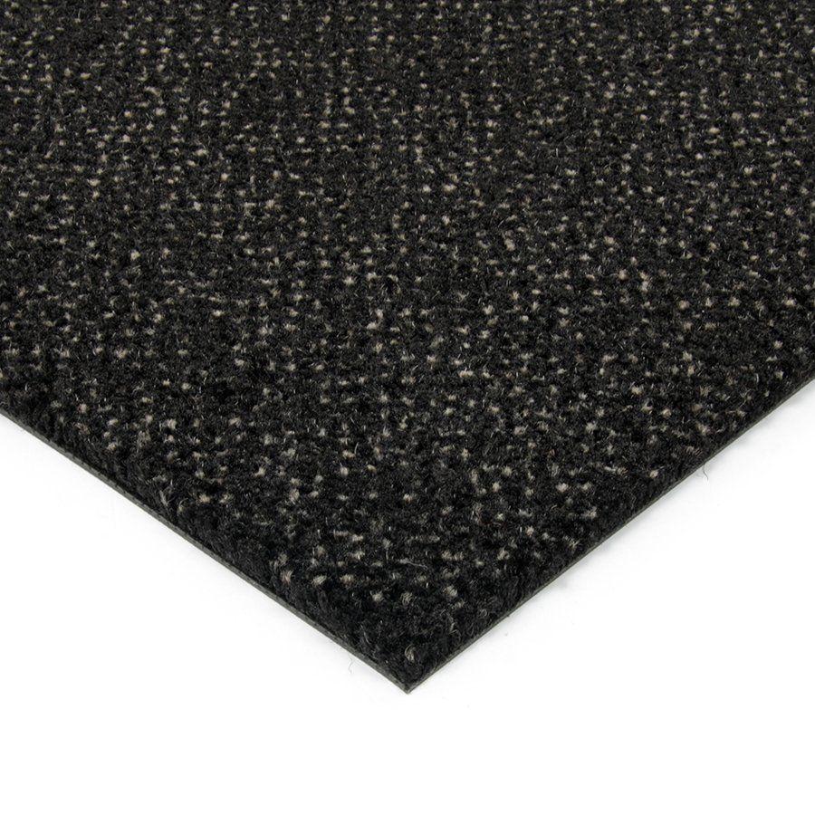 Černá kobercová vnitřní čistící zóna Cleopatra Extra, FLOMAT (Bfl-S1) - délka 50 cm, šířka 200 cm a výška 1 cm
