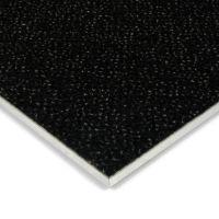 Černá kobercová vnitřní čistící zóna Cleopatra Extra, FLOMAT (Bfl-S1) - délka 200 cm, šířka 100 cm a výška 1 cm