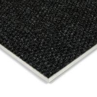 Černá kobercová vnitřní zátěžová čistící zóna Fiona, FLOMAT - délka 50 cm, šířka 100 cm a výška 1,1 cm