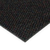 Černá kobercová vnitřní zátěžová čistící zóna Fiona, FLOMAT - délka 200 cm, šířka 200 cm a výška 1,1 cm