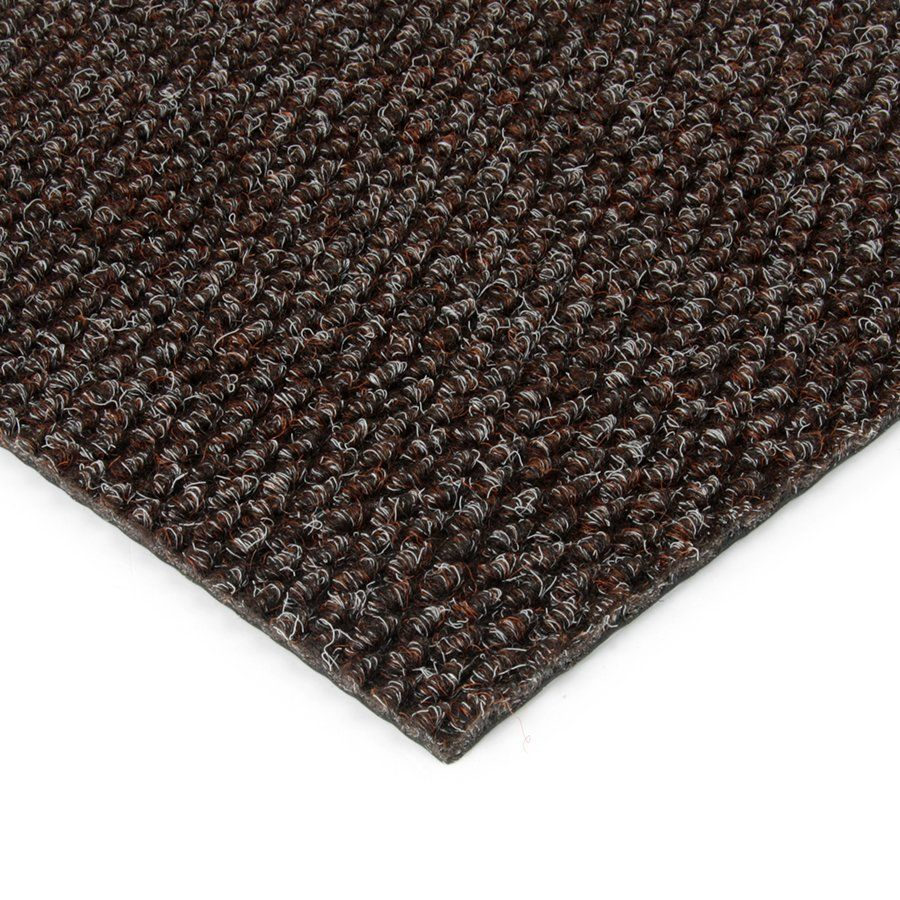 Hnědá kobercová vnitřní zátěžová čistící zóna Fiona, FLOMAT - délka 50 cm, šířka 100 cm a výška 1,1 cm