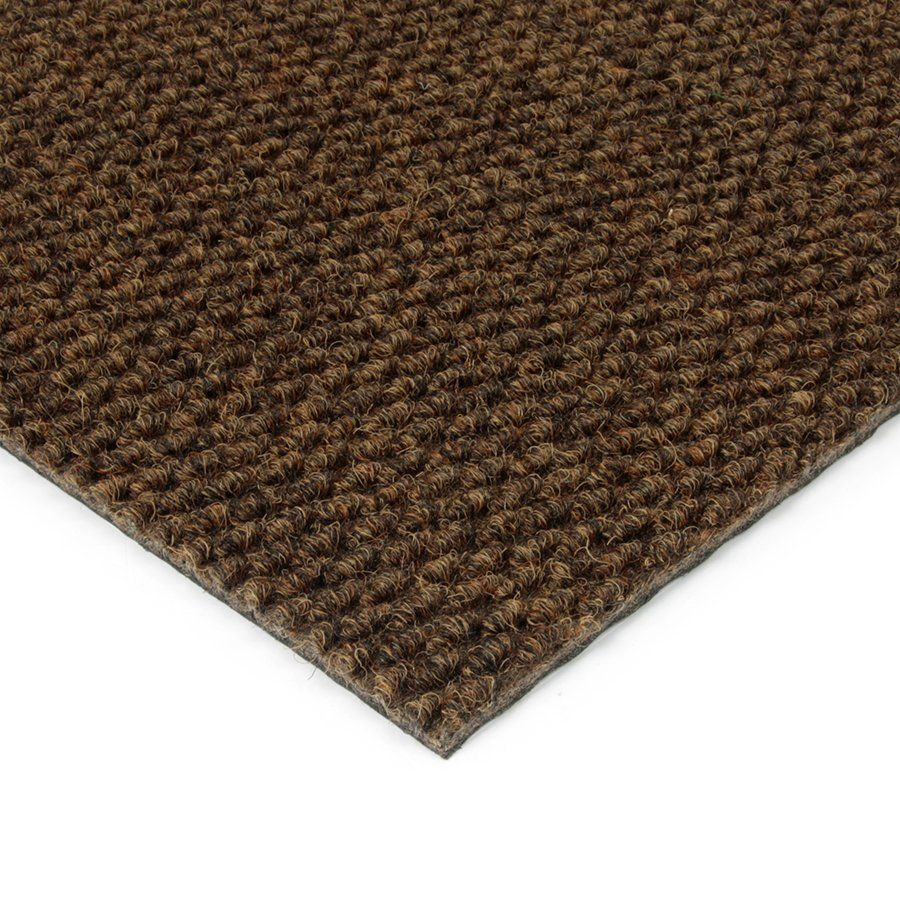 Hnědá kobercová vnitřní zátěžová čistící zóna Fiona, FLOMAT - délka 200 cm, šířka 100 cm a výška 1,1 cm