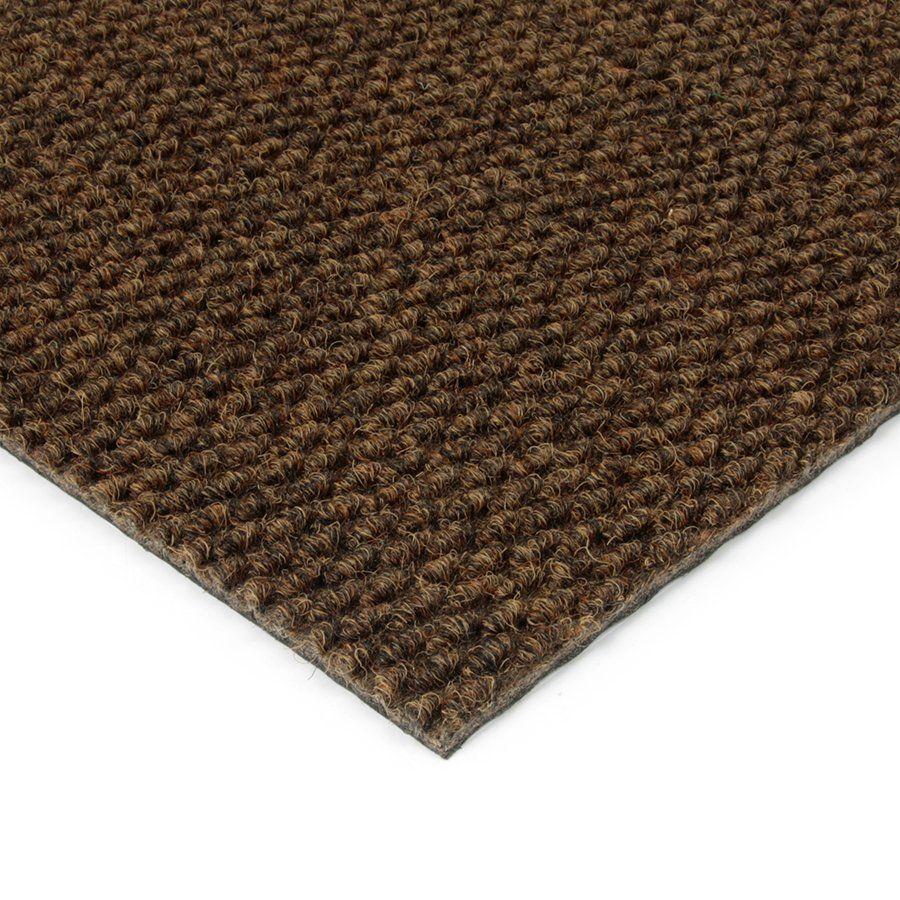 Hnědá kobercová vnitřní zátěžová čistící zóna Fiona, FLOMAT - délka 150 cm, šířka 200 cm a výška 1,1 cm