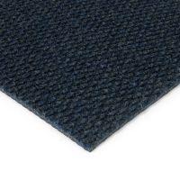 Modrá kobercová vnitřní zátěžová čistící zóna Fiona, FLOMAT - délka 150 cm, šířka 200 cm a výška 1,1 cm