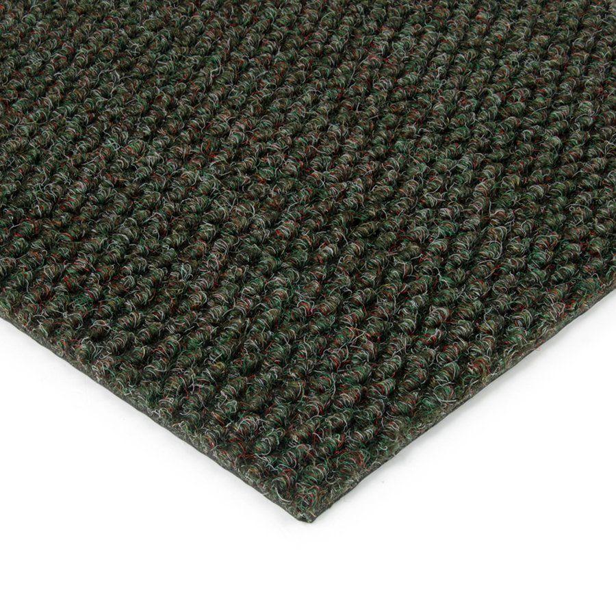 Zelená kobercová vnitřní zátěžová čistící zóna Fiona, FLOMAT - délka 150 cm, šířka 200 cm a výška 1,1 cm