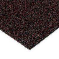 Červená plastová zátěžová venkovní vnitřní vstupní čistící zóna Rita - 100 x 100 x 1 cm