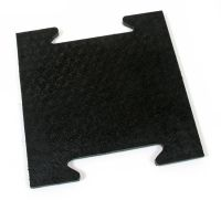 Gumová modulární zátěžová rohož Horse Tile - 39 x 39 x 2,5 cm