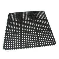 Gumová protiúnavová modulární rohož Restaurant Top Tile - 91 x 91 x 1,4 cm