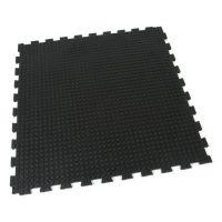 Gumová zátěžová podlahová modulární rohož Heavy Bubble - 100 x 100 x 1,6 cm