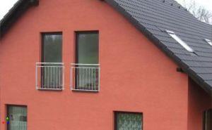 MODEL 02- 900 svislá výplňzábradlí francouzská okna