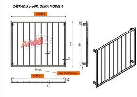 MODEL 04- 900 svislá výplň