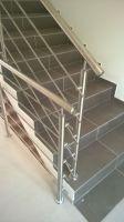 Sloupek zábradlí pro schodiště V1 vrchní kotvení