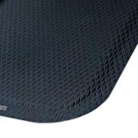 Černá protiúnavová protiskluzová rohož - délka 61 cm, šířka 84 cm a výška 2,2 cm