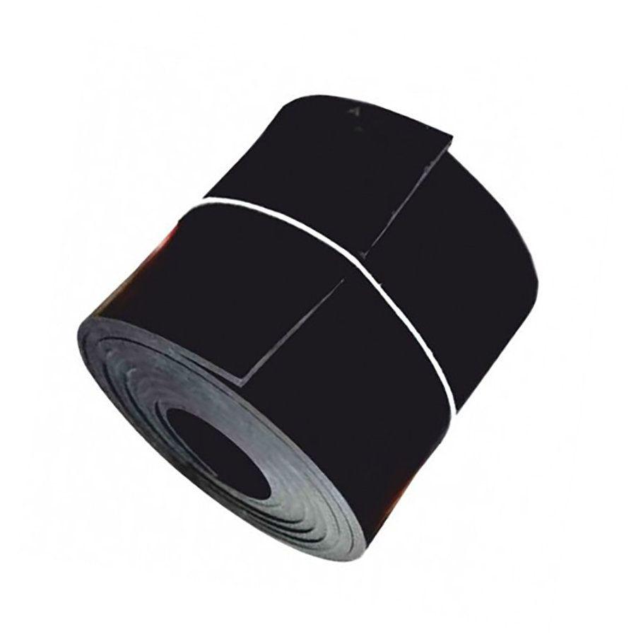 Černá pryžová NBR deska - délka 10 m, šířka 120 cm a výška 0,8 cm FLOMAT