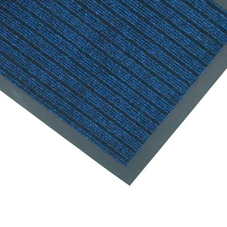 Modrá textilní vstupní rohož Popular - délka 50 cm a šířka 80 cm FLOMAT